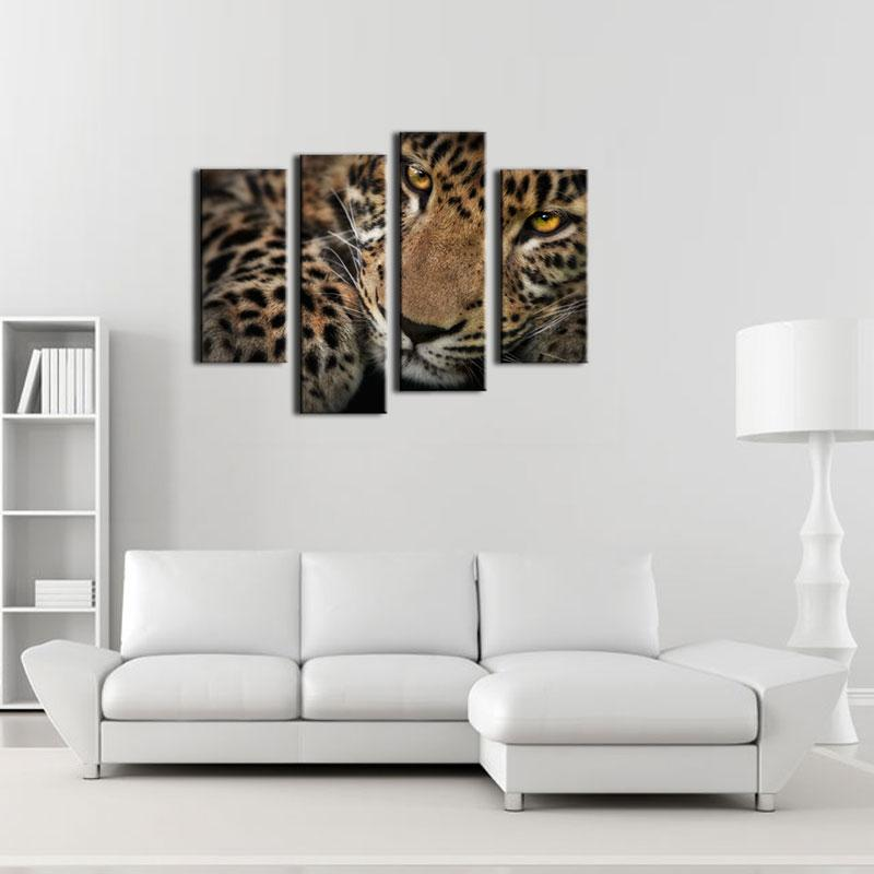 online get cheap leopard print wall art aliexpress com