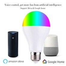LED Bulb Smart Wifi Bulb Led  Light RGB 7w E27/E26/B22APP Remote Control ColorAdjustment Connect For Amazon Alexa Google Home стоимость