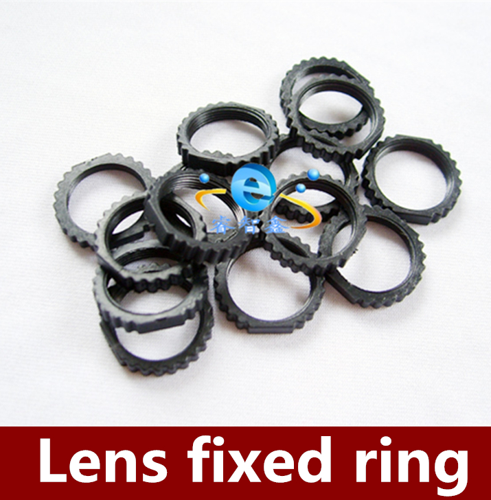 2000pcs Free Shipping M12 lens locking ring small lens fixed ring plastic lens ring high quality