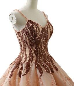 Image 5 - J66695 Jancember Quinceanera Vestito 2020 Fatti A Mano Pesante Fionda Abiti di Sfera Delle Ragazze Masquerade Abiti di Sfera del Vestito Vestidos Para 15 años