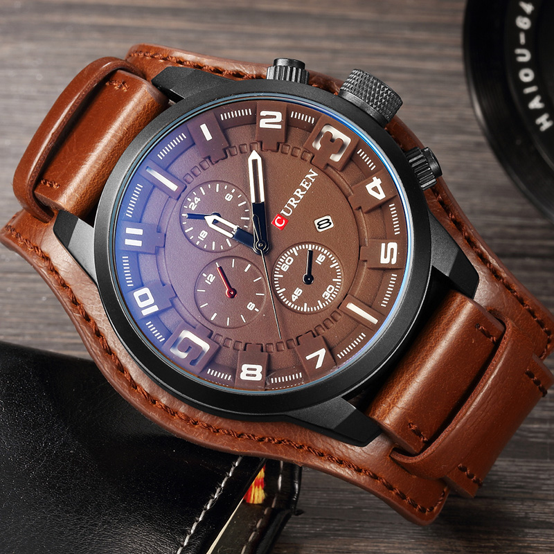 CURREN Men Watches Men's Military Sport Watch Man Fashion Nylon Quartz Wristwatches Male Date Analog Clock Relogio Masculino цена и фото