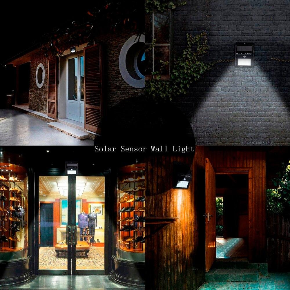 Solarlampe Induktionsgarten Licht PIR Menschlichen Körper - Außenbeleuchtung - Foto 6