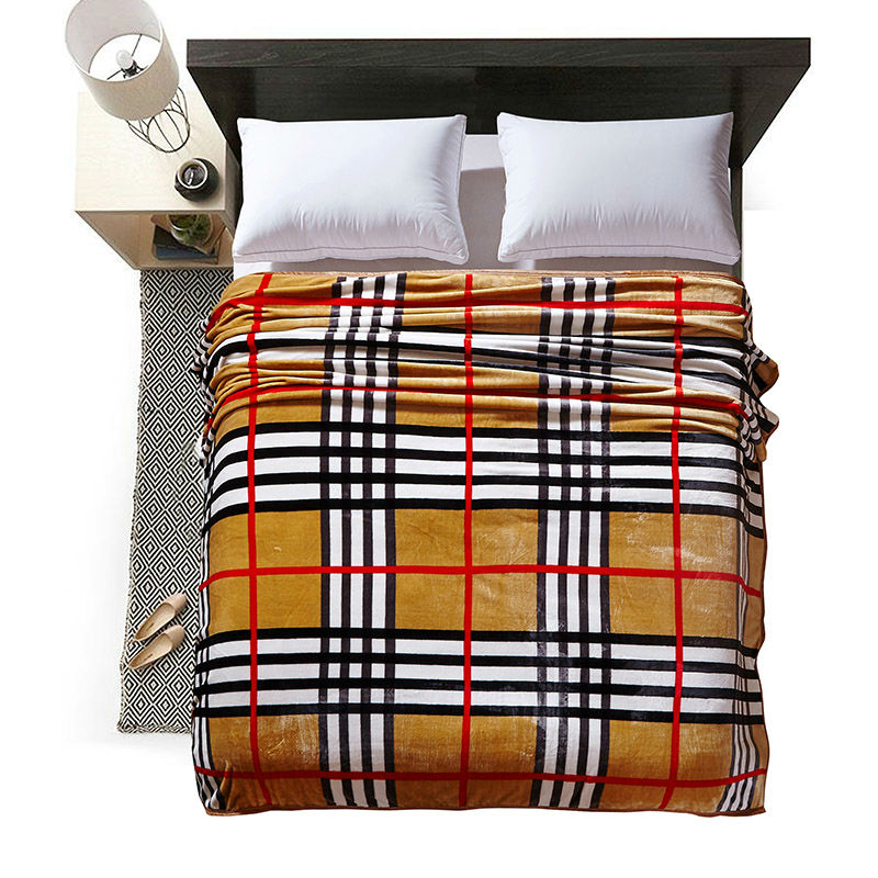 ФОТО Fashion colorful stripes summer throw multifunctional blankets coral fleece bedsheet multisize soft plaid bedspread linens