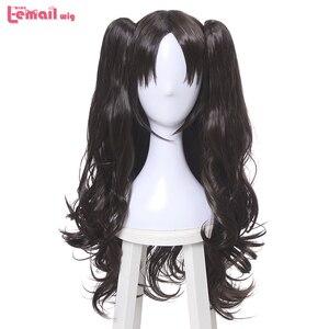 Image 2 - L Email Tóc Giả Mới FGO Nhân Vật Trò Chơi Cosplay Bộ Tóc Giả 10 Màu Chịu Nhiệt Tóc Tổng Hợp Perucas Nam Nữ Cosplay tóc Giả