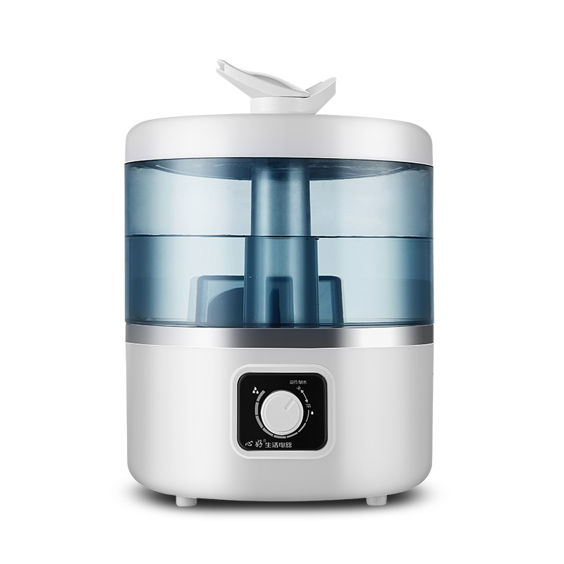 4L humidifier Mute High capacity bedroom Pregnant woman baby spray Air humidification Full caliber water Easy to clean floor style humidifier home mute air conditioning bedroom high capacity wetness creative air aromatherapy machine fog volume