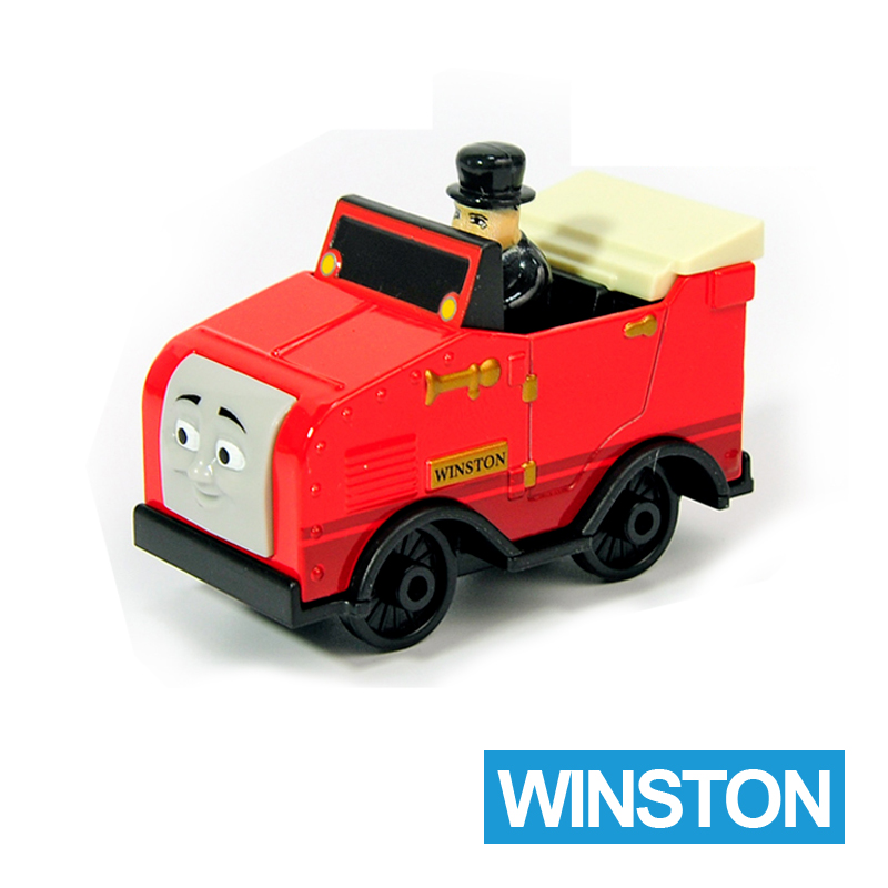 X48 Gift 1: 64 Vehicles Diecasts Thomas with hook WINSTON Thomas And Friends Magnetic Thomas Truck Engine Train Toys For Boys