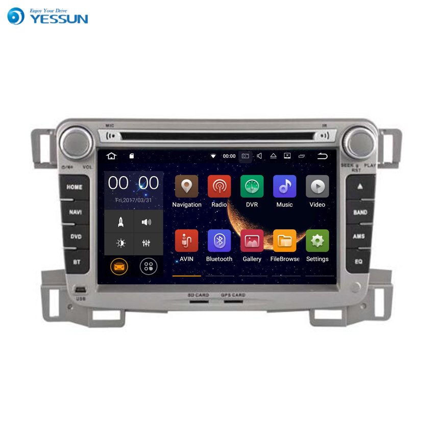 YESSUN Android Radio Car DVD Player For Chevrolet Sail 2009~2013 Stereo Radio Multimedia GPS Navigation With Bluetooth AM/FM