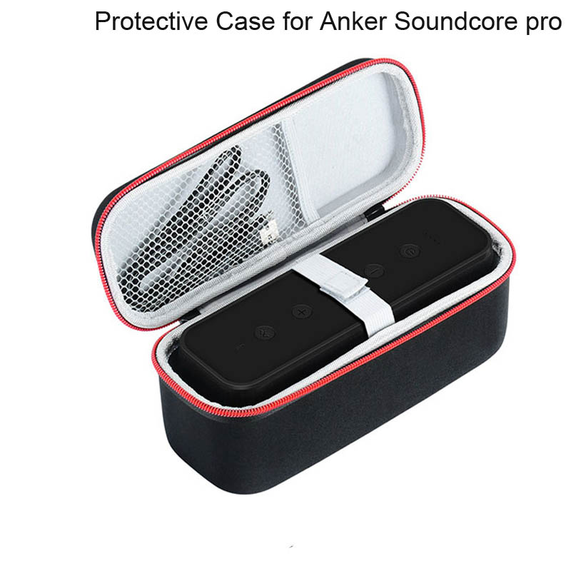 Eva Hard Travel Carry Case Bag For Anker Soundcore Pro Premium Wireless Bluetooth Speaker Portable Cover Storage Box