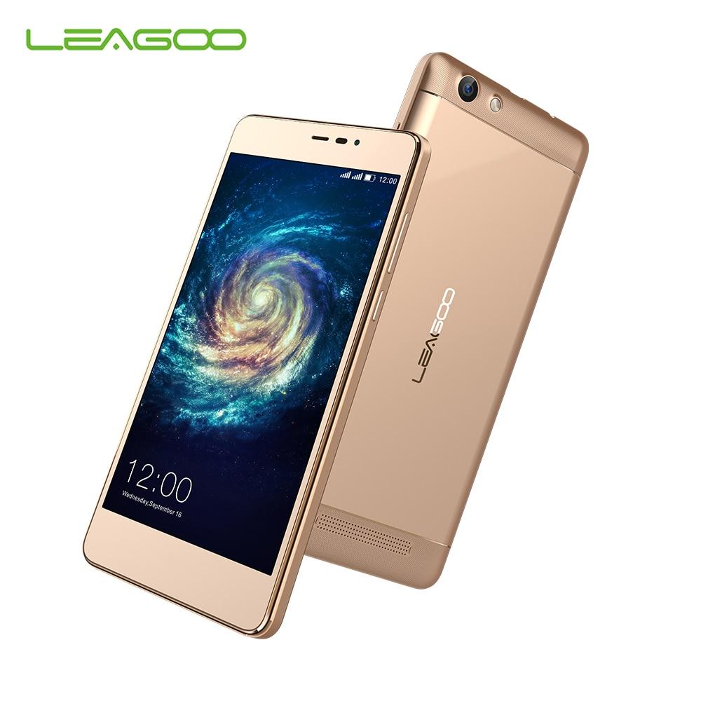 LEAGOO Shark 5000 Mobile Phones MT6580A Quad Core 8G ROM 1G RAM OTG Android 6.0 Smartphone 5000mAh 5.5 Inch HD Cellphone 13.0 MP