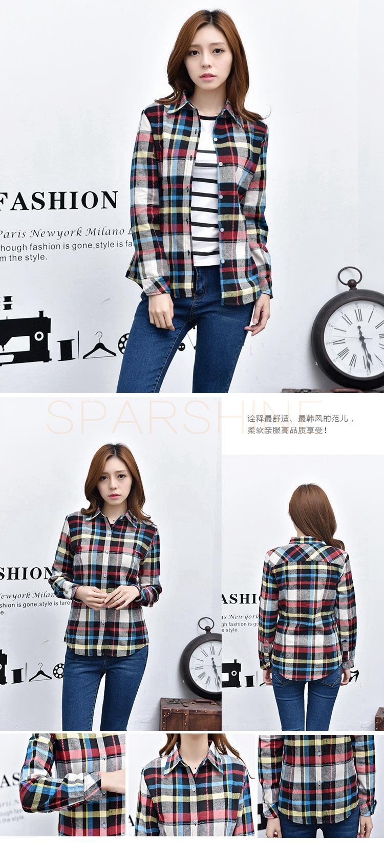 HTB1QUzgLFXXXXbBXVXXq6xXFXXXb - Girl's Plaid Flannel Shirt PTC 67