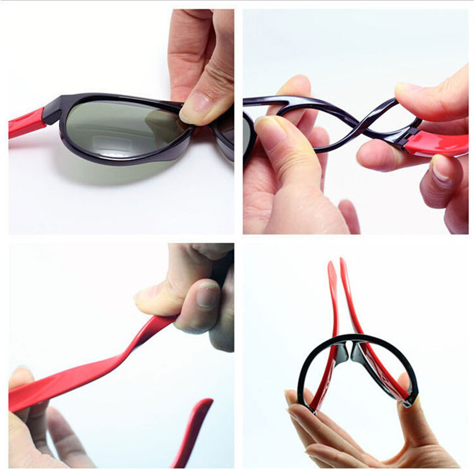 No easily broken Kids TR90 Polarized Sunglasses Children Safety Brand Glasses Flexible Rubber Oculos Infantil (4)