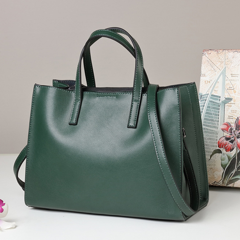 100% Genuine Leather Bags Famous Brand Ladies Bucket Tote Shoulder Bags Designer Handbags High Quality Women Messenger Bags 2017