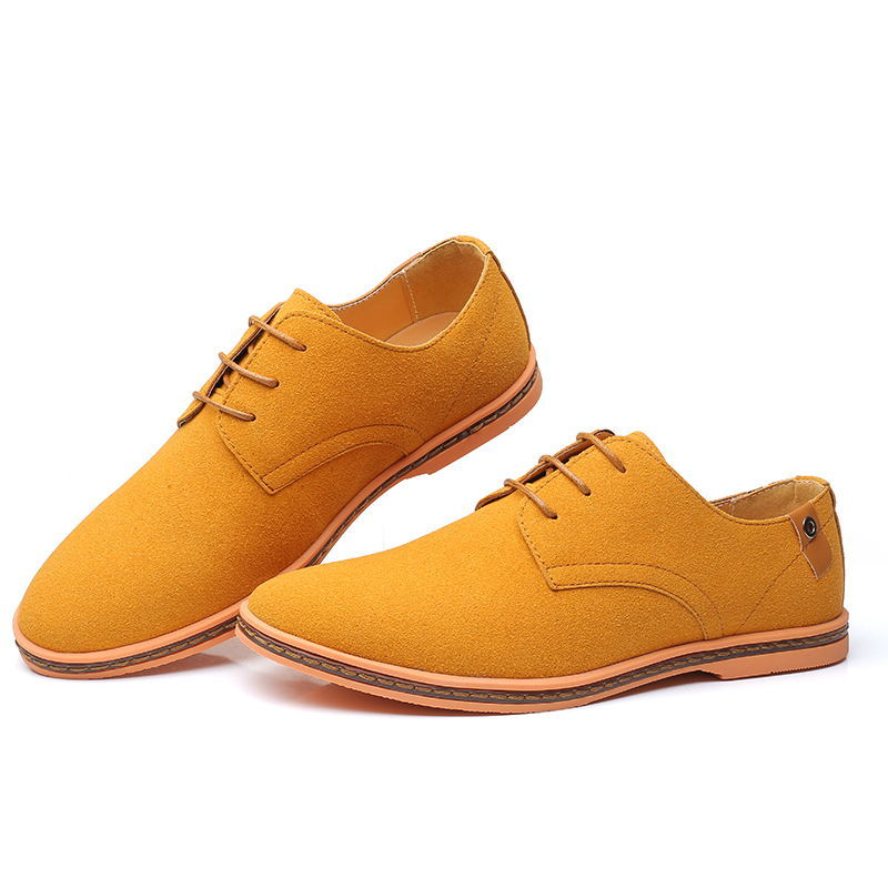 HTB1QV.GX2WG3KVjSZFPq6xaiXXaj - VESONAL Brand Spring Suede Leather Men Shoes Oxford Casual Classic Sneakers For Male Comfortable Footwear Big Size 38-46