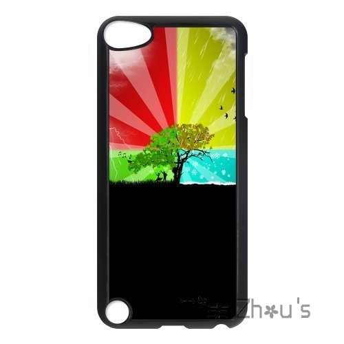 For Samsung Galaxy mini S3/4/5/6/7 edge plus Note2/3/4/5/7 mobile cellphone cases cover Four Seasons Pattern Fall Season