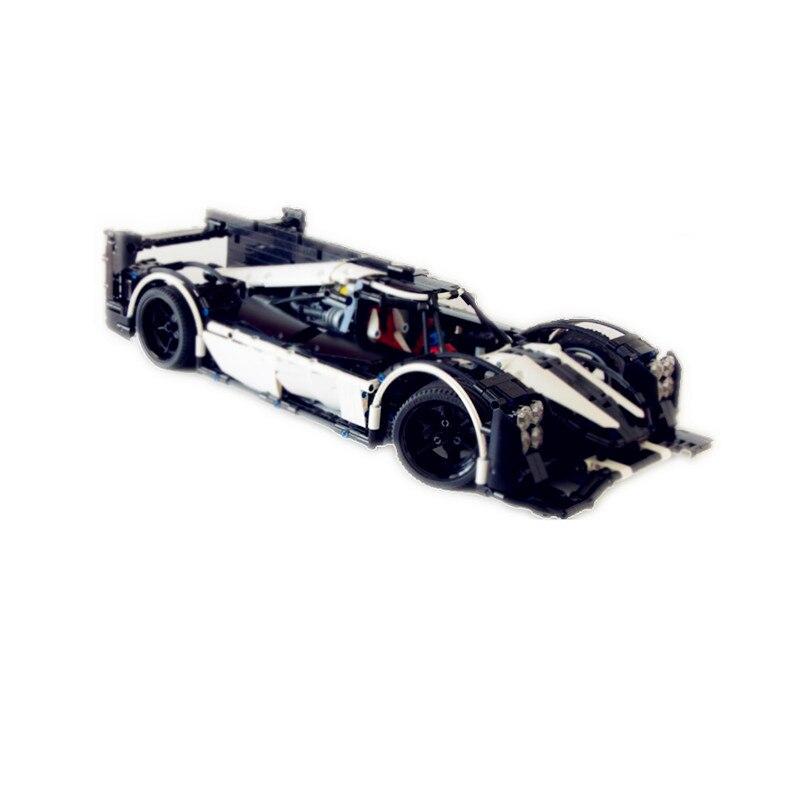 2207PCS 23018 Technic MOC Legoingly 5530 Hybrid Super Racing Car Model Building Blocks Bricks Toy DIY Birthday Gift