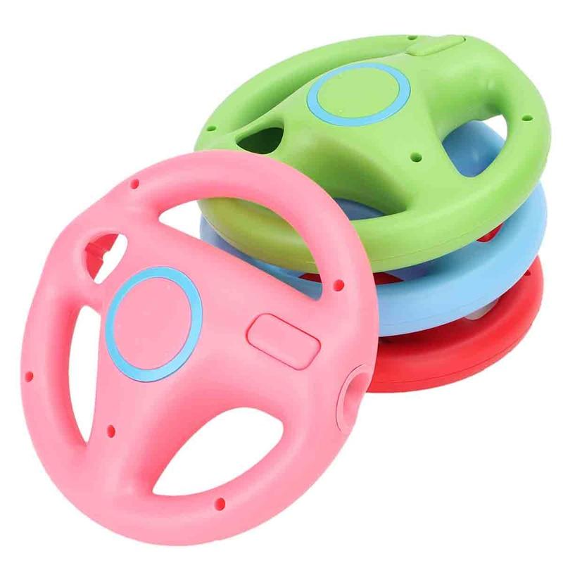 1 Шт. Гоночный Контроллер Рулевого Колеса Для Nintendo Для Wii Гоночный Игровой Контроллер Для Mario Kart Пульт дистанционного управления 4 Цвета