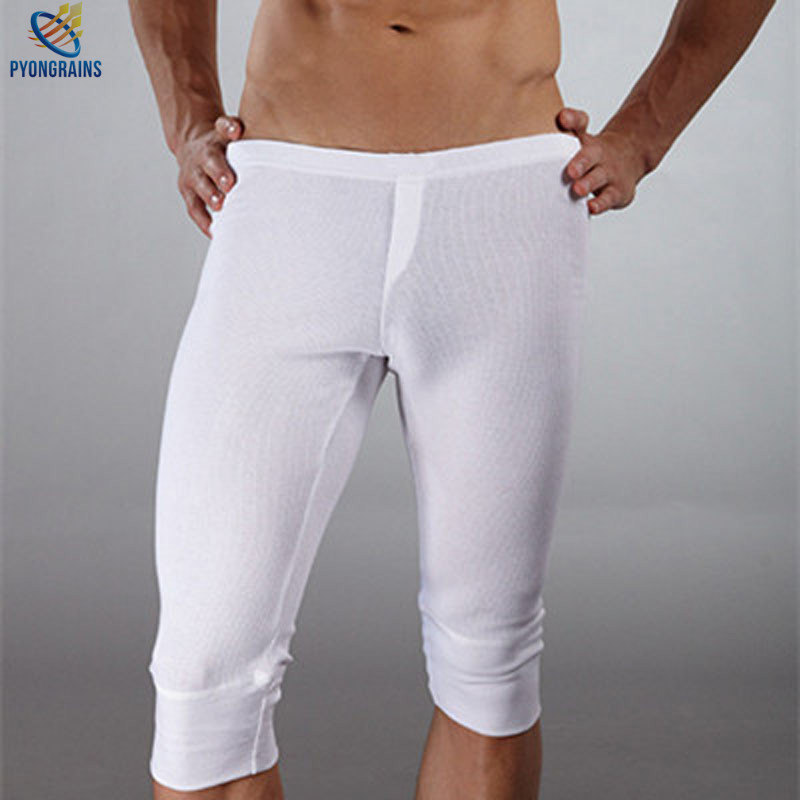 Brand Men's Underwear Of Pure Cotton Men Pants Pyjamas At Home Man Winter Pants Warm Mens Singlet Underwear Men Boxers