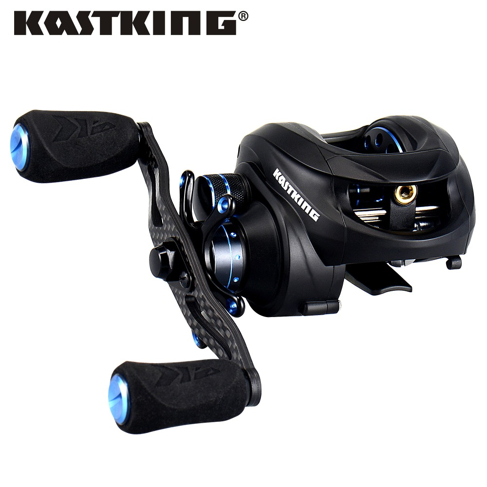 все цены на KastKing Assassin 12BBs Dual Brake Baitcasting Reel Max Drag 7.5KG Right Left Hand Bait Casting Lure Fishing Reel онлайн