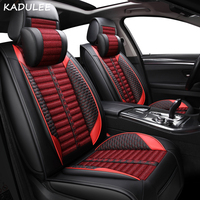 KADULEE car seat cover auto seats covers accessories for lexus ct200h es300h gs gs300 gx gx460 gx470 of 2010 2009 2008 2007