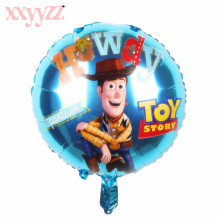 XXYYZZ Free Shipping New 18 inch Cartoon Aluminum Balloon Ball Inflatable Toys Wholesale High Quality For Baby Gift high quality high quality germany kx 2 4s kiss 18a esc panel for qav mini quadcopter toys wholesale free shipping