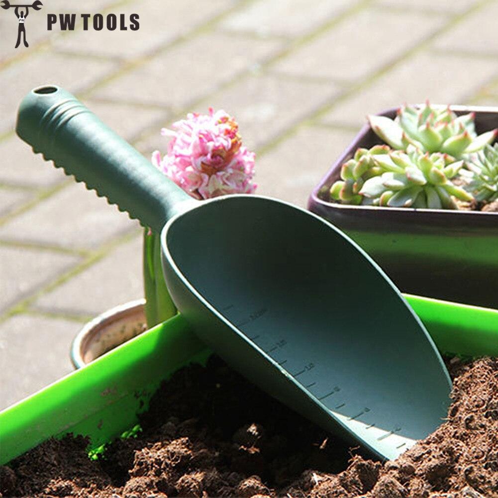Home Gardening Tools Plastic Soil Shovel Plant Soil Shovels Flowers and Vegetable Planting Soil Shoveling Scarification Weeding