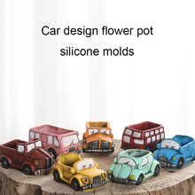Buy   shaped silicone concrete flowerpot molds   online