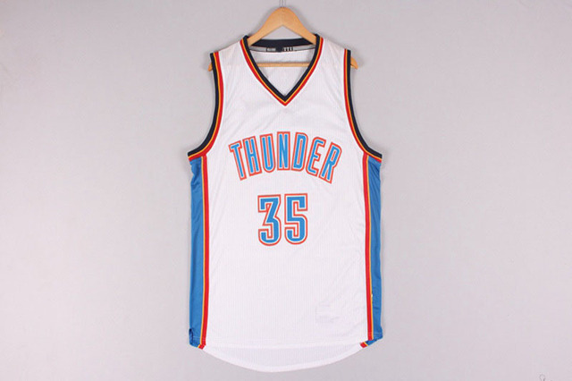 1f38b9fca805 Cheap Mens Oaklahoma City Thunder Kevin Durant 35 Basketball Jerseys  Stitched Logo Embroidery Free Shipping