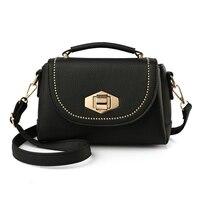 MIWIND Quality Numbuck Leather Women Top Handle Bag Fashion Lock Women Shoulder Bag Shell Stlye Women
