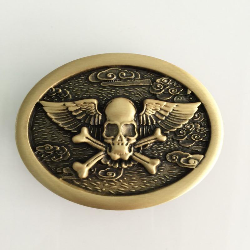 Venta al por menor nuevas hebillas de cinturón de vaquero de cráneo - Artes, artesanía y costura