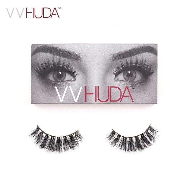 2cda3bff30b VVHUDA 3D Mink Lash False Eyelashes Hand-made Long Thick Voluminous Fake  Lashes Collection Natural