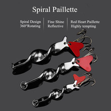 Metal Spoon Fishing Lure 10g 14g 21g 28g Rotating Spinner Lure Spiral Paillette Hard Baits For Trout Pike Pesca Treble Hook цена 2017