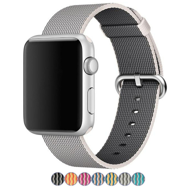 New Arrival Nylon Strap for Apple Watch Band Nylon Band With Built-in Adaptor,for Apple Watch Nylon Band 42MM/38MM