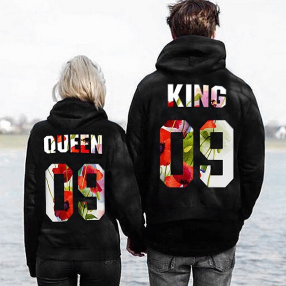 Fashion 09 Print Couple Hoodies 2018 New Spring Men Women Comfortable Hoodies Sweatshirts Casual Soft Long Sleeve Pullover Tops