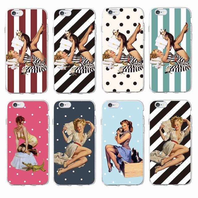 coque iphone 6 pin up
