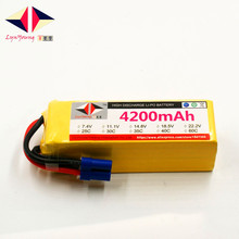 4200mAh 22.2V 40C 6S LYNYOUNG lipo battery for RC Drones Airplane Helicopter Quadrotor