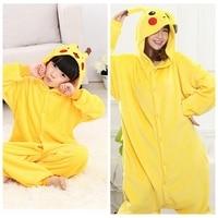Family Matching Outfits Men Women Adults Child Unicorn Stitch Minions Flannel Hoodies Pajamas Cartoon Pijamas Pyjama