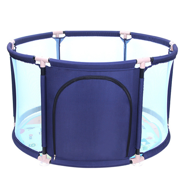 Baby Fence Guard Folding Kids Playpen Ocean Ball Game Playing Pit Pool Portable  Child Game Play
