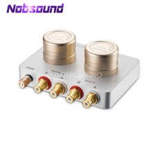 Nobsound Audio Stap Omhoog Transformator MC Moving Coil Phono Stage Cartridge Voorversterker Passieve Voor Telefoon PC/CD Speler/ MC Phono Draaitafel