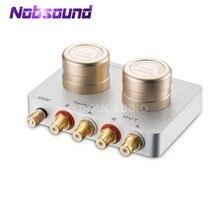 Трансформатор Nobsound с усилением звука, подвижная катушка MC, картридж с предварительным усилением для телефона, ПК, CD плеера, фотография