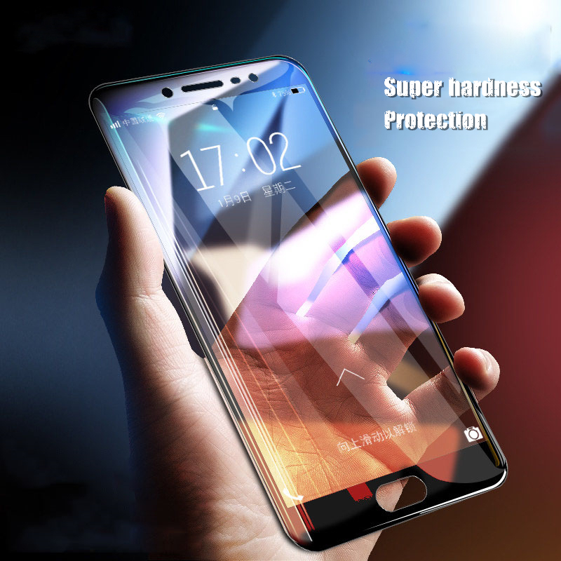 Full Cover Tempered <font><b>Glass</b></font> For <font><b>Samsung</b></font> Galaxy A8 Plus J6 J8 2018 A5 A3 A7 2016 J5 J3 J7 2017 S6 S7 J5 Prime Note 3 4 <font><b>5</b></font> Protector image