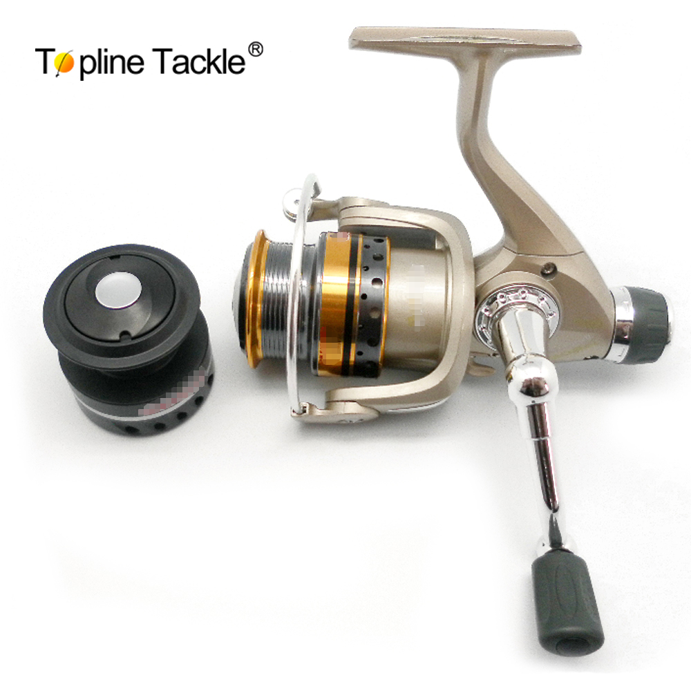 Free shipping topline tackle fishing reel spinning ultra for Ultra light fishing reel