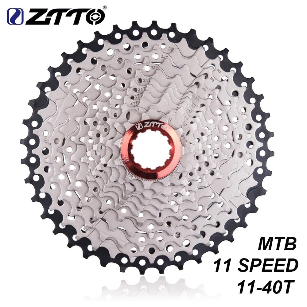 Ztto mtb mountain bike bicicleta peças 11s 22s velocidade freewheel cassete 11s 11-40 t compatível para peças m7000 m8000 m9000 xt slx