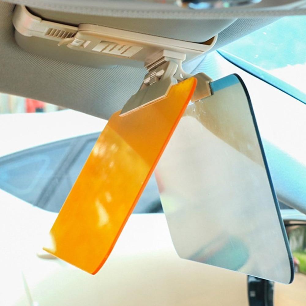 Car Day And Night Anti-glare Visor 2 In 1 Automobile Sun Anti-UV Block Visor Non Glare Anti-Dazzle For Driving Goggles