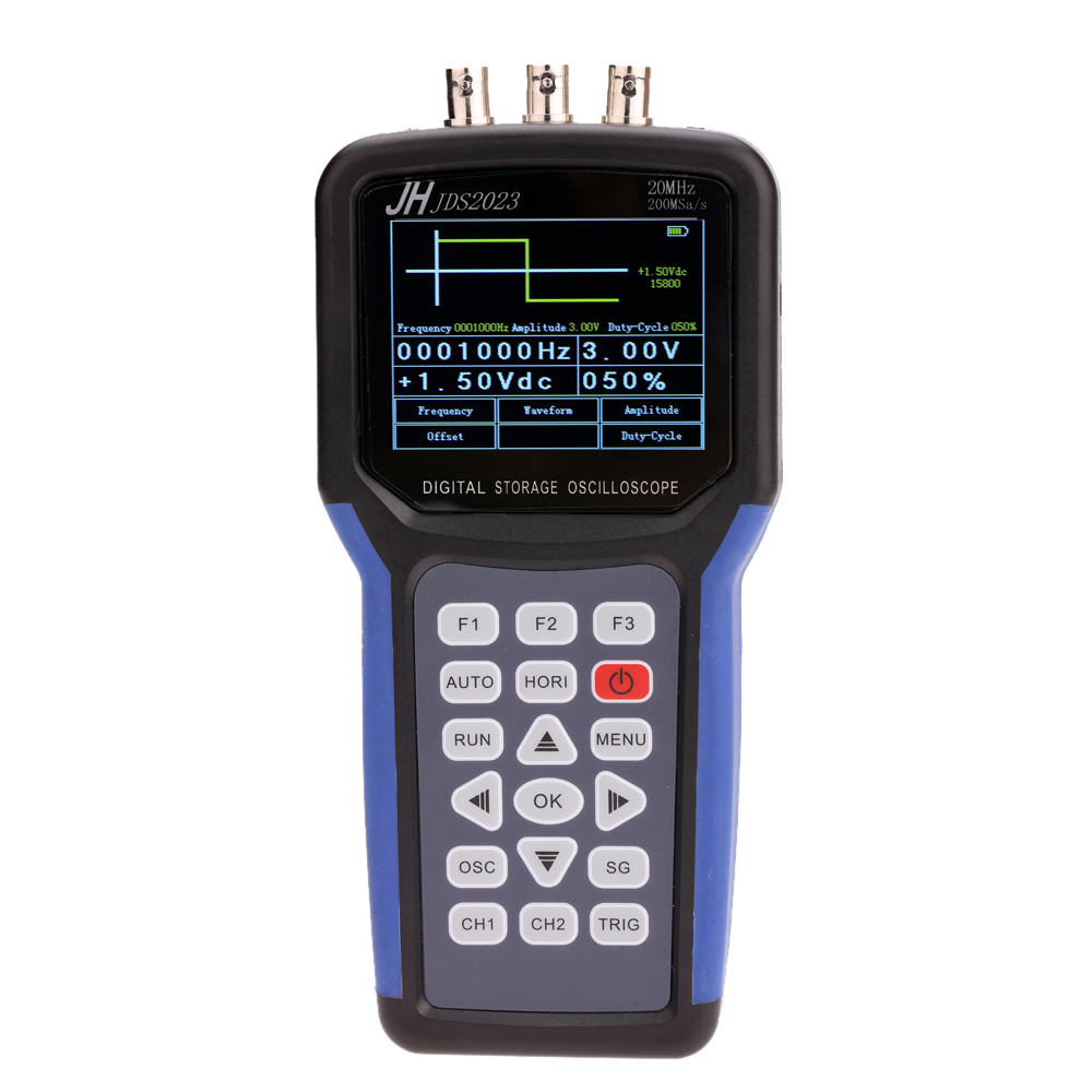 Handheld Multi-functional Digital Oscilloscope + Signal Generator Portable Scope Meter 20MHz Bandwidth 200MSa/s 1CH TFT LCD blackvue dr650 s 1ch