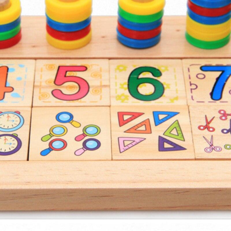 Djeca Drveni Montessori Materijali Učenje Brojeva Brojeva koji - Obrazovanje i osposobljavanje - Foto 5