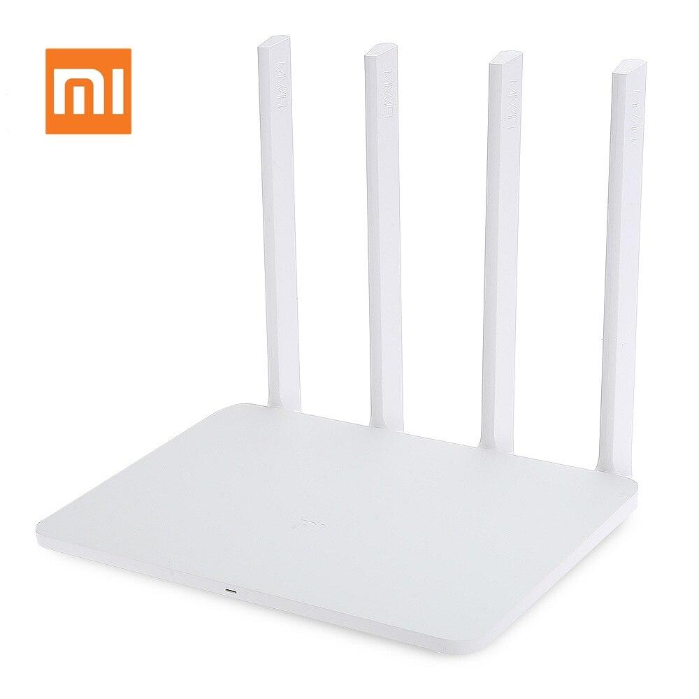 Routeur sans fil d'origine Xiao mi mi WiFi 3G 1167 Mbps répéteur Wi-Fi 2.4G 5 GHz double bande 128 mo 256 mo 4 antennes Wifi APP contrôle