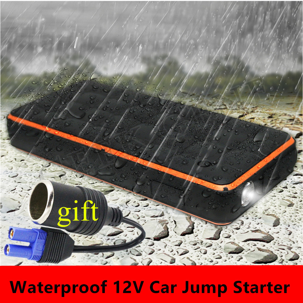 Car Jump Starter Portable 1000A Peak Starting Device Power Bank 12V Diesel Petrol Car Charger For Car Battery Booster Buster LED  цена и фото