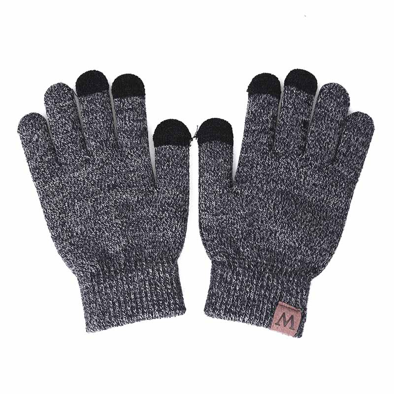 HTB1QV3mXvjsK1Rjy1Xaq6zispXaf - GROUP JUMP Winter Gloves Women and Men Girls Knitted Mittens Warm Soft Gloves Female Winter Gloves Touch Screen Unisex
