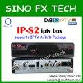 IPS2 IP-S2 iptv set top box DVB-S2 receptor de satélite com 1 ano árabe iptv Europa iptv Um pacote de assinatura 1200 + canais