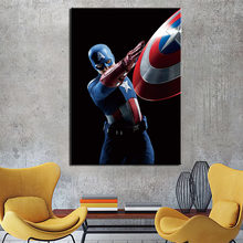 Poster Canvas Paintings Modular Decor Room 1 Piece The Avengers Picture Wall Art Framed HD Prints Home Decor(China)